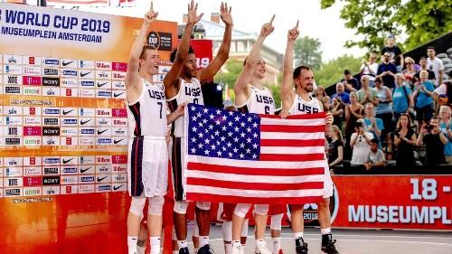 Los Angeles will host FIBA three-on-three basketball championships