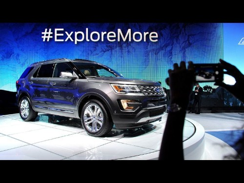 New Ford Explorer has bolder look, more engine choices - Los Angeles Times