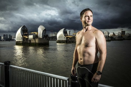 Can this British guy really swim from New York City to London?