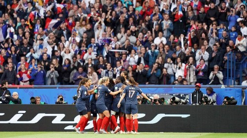 Soccer! France is slowly warming up to the Women's World Cup