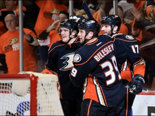 Take-aways from Ducks' 3-0 victory over Calgary Flames in Game 2