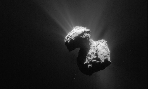 Oxygen found on comet in Rosetta mission: 'Most surprising discovery ... so far'