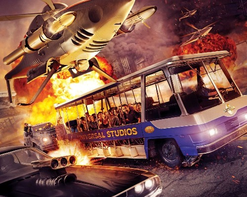 Super Bowl ad gives first look at Universal Studios' Fast & Furious ride - Los Angeles Times
