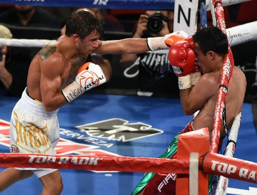 Lomachenko's rapid-fire blows too much for Koasicha in 10th round knockout - Los Angeles Times