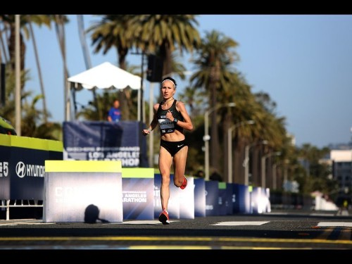 L.A. Marathon draws 24,000 runners and their supporters to the streets
