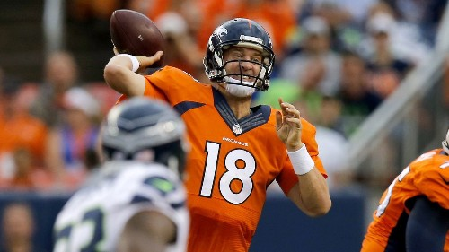 Denver Broncos' record-setting Peyton Manning is as focused as ever