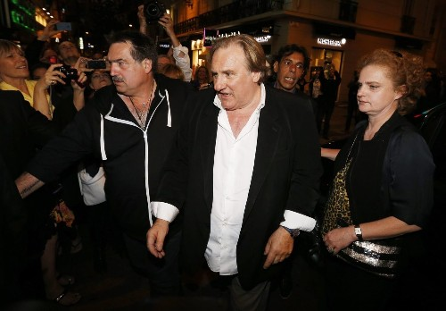 Cannes: In 'Welcome to New York,' Gerard Depardieu as (his own) DSK