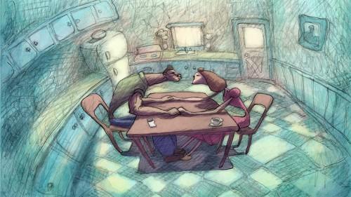 Bill Plympton's 'Cheatin'' is idiosyncratic, mature animation