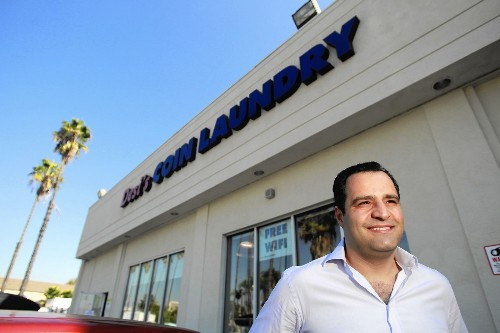 The minimum wage debate through the eyes of self-made laundromat owner - Los Angeles Times