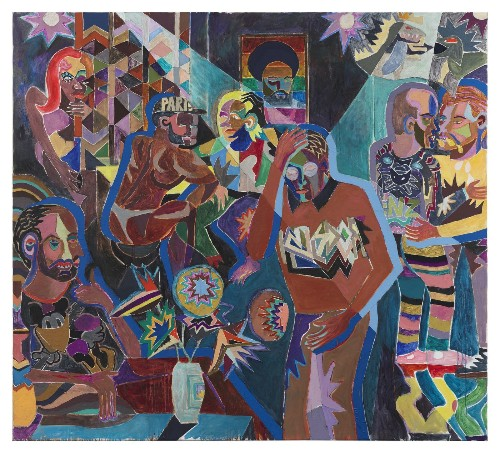 Last chance to see painter Armin Boehm's fractured point of view - Los Angeles Times