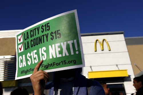 Is California's move to a $15 minimum wage a good idea? Here are the facts.