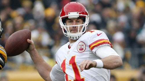 Alex Smith out for Kansas City Chiefs with lacerated spleen - Los Angeles Times