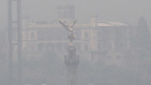 Mexico City's air is so bad that schools, playgrounds and a zoo are closed