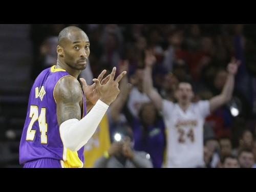 Kobe Bryant has enough energy to carry Lakers past Pistons, 106-96