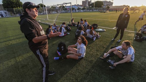 Los Angeles' Latina club is trying to change the face of women's soccer