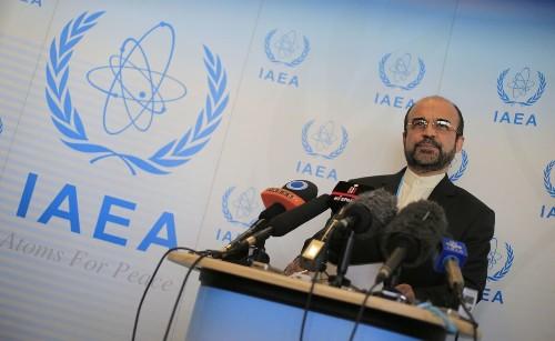 Iran announces deep cut in enriched uranium stockpile