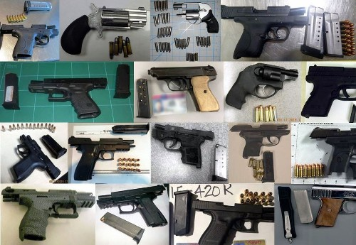 TSA on pace to break record of firearms uncovered at U.S. airports - Los Angeles Times