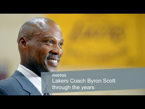 From streets to sideline, Lakers' Byron Scott was always tough