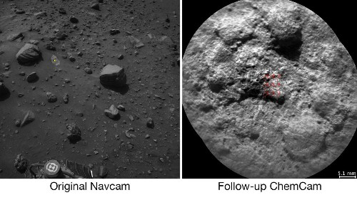 AI: NASA's Curiosity rover can now choose its own laser targets on Mars