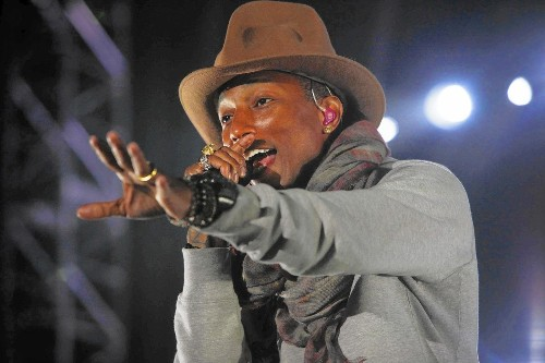 Pharrell Williams had a very 'Happy,' successful and stylish 2014