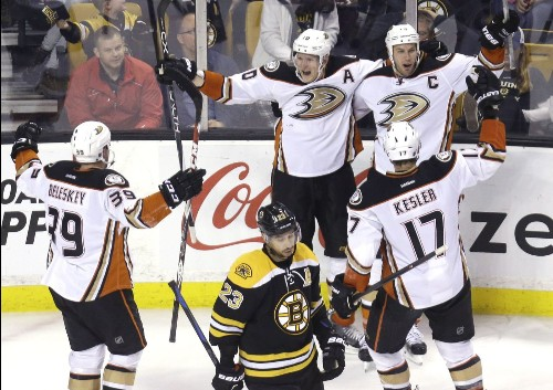 What we learned from the Ducks' 3-2 overtime victory in Boston