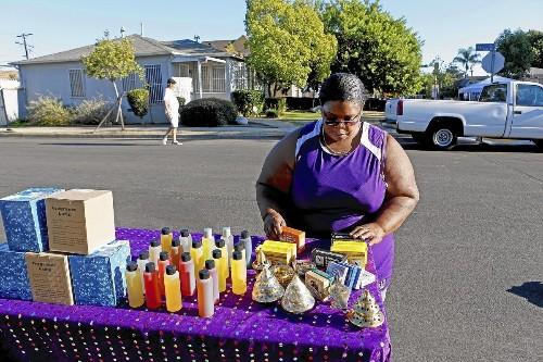 More Angelenos are becoming street vendors amid weak economy