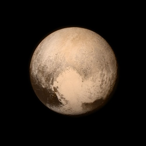 Little world, big heart: Pluto stuns in New Horizons image