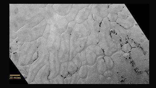Geology on ice: Scientists unveil video of frozen mountains and plains on Pluto - Los Angeles Times