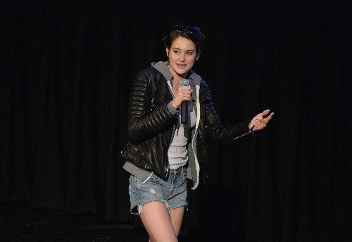 Sage Shailene: 'Divergent' star Woodley offers life advice (Part 1)