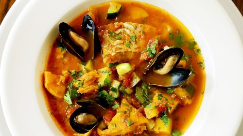 Put some seafood into your soup pot