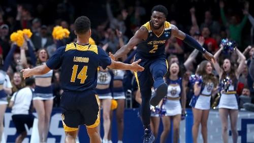UC Irvine opens its Cinderella bid with upset over Kansas State in NCAA tournament