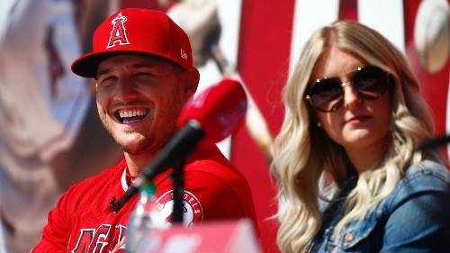Mike Trout reiterates belief in Angels' vision