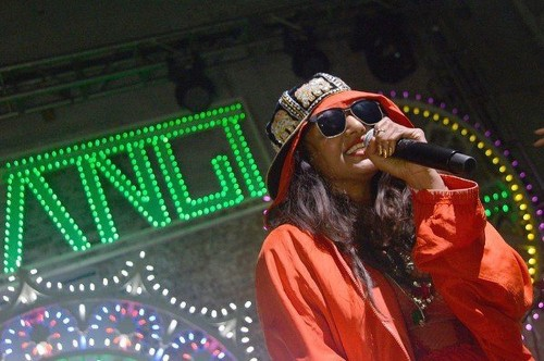 M.I.A. just might leak her own album