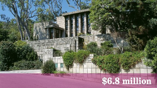Frank Lloyd Wright-designed Storer home sale sets record - Los Angeles Times