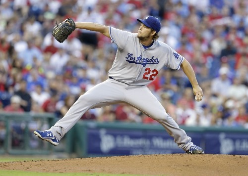 Clayton Kershaw, Dodgers beat Phillies, 5-0, for 10th win in a row