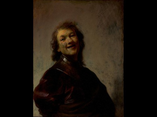 Rembrandt smiles on Getty Museum visitors and staff - Los Angeles Times