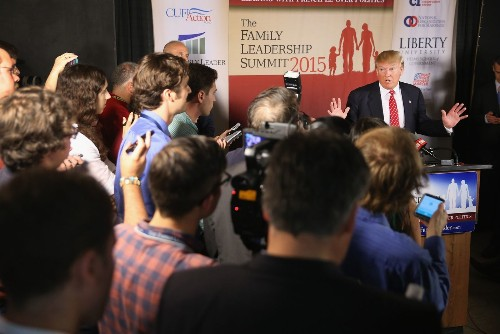 Donald Trump says John McCain 'not a war hero'; Republican rivals denounce him - Los Angeles Times
