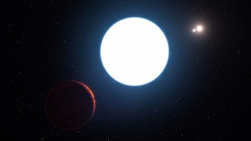 Why scientists are surprised by this strange giant planet and its three suns