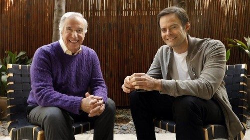 Bill Hader and Henry Winkler root 'Barry' in friendship, collaboration and some hero worship