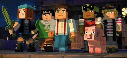 'Minecraft: Story Mode's' adventures have familiar plots but characters worth rooting for - Los Angeles Times