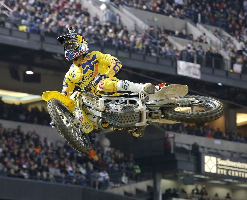 Supercross racer Ken Roczen wins again at Anaheim