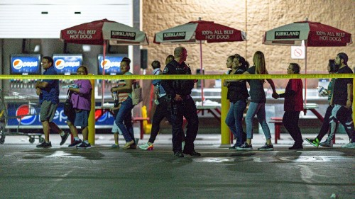 Shoppers at a Costco in Corona struggle with deadly shooting in a food-tasting line