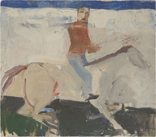 Review: Richard Diebenkorn show at Pepperdine zeroes in on experimental early years