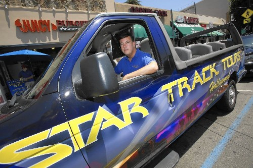 Tensions are high as Hollywood tour bus operators vie for customers