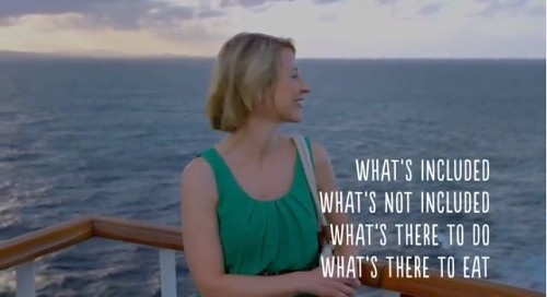 Let travel host Samantha Brown teach you all about cruising