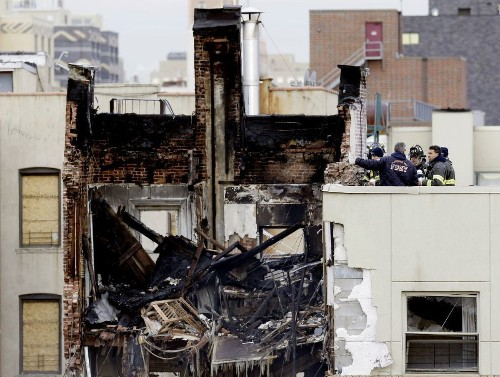 Gas had been leaking at N.Y. blast site, NTSB soil tests show