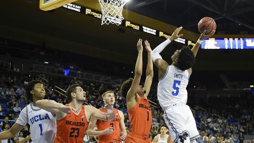 UCLA gets back to .500 in Pac-12 play despite blowing lead against Oregon State