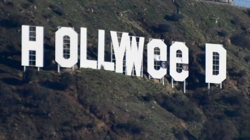 Case of 'Hollyweed' prankster will be presented to prosecutors, police say