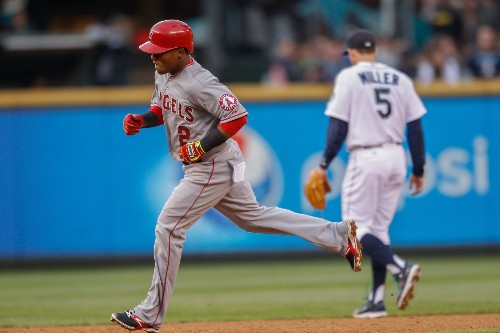 Erick Aybar hits a three-run homer in Angels' 7-5 win over Mariners - Los Angeles Times