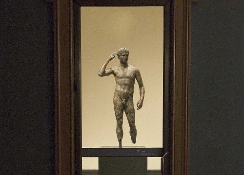 Sorry, Italy, the 'Getty Bronze' belongs in L.A. - Los Angeles Times